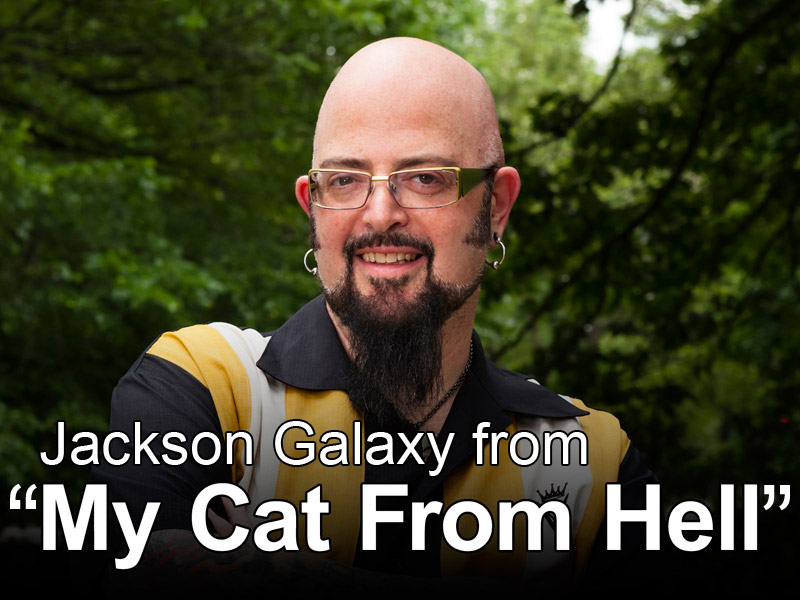 "Jackson Galaxy from ""My Cat From Hell"""